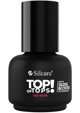 SILCARE - Silcare Base Coats & Top Coats Silcare Base Coats & Top Coats Top Of Tops No Wipe Hybrid Gel Nagelueberlack 15.0 g - Base & Top Coat
