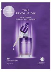 Missha Time Revolution Time Revolution Night Repair Ampoule Sheetmask 5x Maske 40.0 g