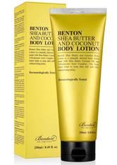 Benton Produkte Benton Shea Butter and Coconut Body Lotion Bodylotion 250.0 ml