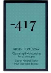 minus417 Cleansers & Peeling & Masks Rich Mineral Gesichtsseife 125 ml