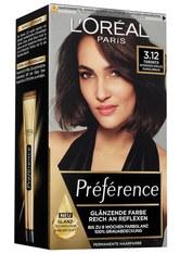 L'Oréal Paris Préférence 3.12 Intensives Kühles Dunkelbraun (Toronto) Coloration 1 Stk. Haarfarbe