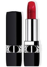 Dior - Rouge Dior – Nachfüllbarer Lippenstift – Satiniert, Matt, Metallic & Samtig - -rouge Dior Satin 743 Rouge Zinnia