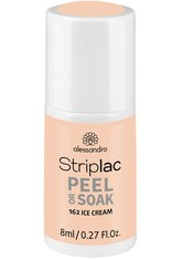 Alessandro Striplac Peel or Soak Nagellack 8 ml Nr. 162 - Ice Cream