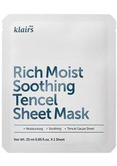 Dear Klairs Gesichtspflege Dear Klairs Rich Moist Soothing Tencel Sheet Mask 10er-Set Maske 1.0 pieces