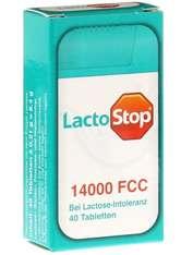 HÜBNER - Hübner Naturarzneimittel Produkte LactoStop 14.000 FCC Tabletten,40St Nahrungsergänzungsmittel 8.4 g - Wohlbefinden