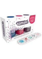 Namaki Produkte Nagellack Set - Dunkelblau. Kirschrot. Pflaume Nagellack 1.0 pieces