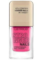 Catrice Stronger Nails Strengthening Nail Lacquer Nagellack 10.5 ml Pink Warrior