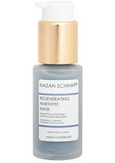 Nazan Schnapp Produkte Regenerating Amethyst Mask Feuchtigkeitsmaske 30.0 ml