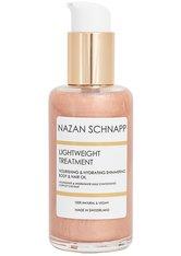 Nazan Schnapp Körper - und Haarpflege Leightweight Treatment Nourishing & Hydrating Shimmering Body & Hair Oil Körperöl 100.0 ml