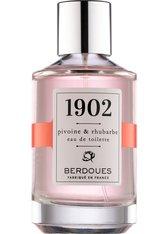 Berdoues Produkte Pivoine & Rhubarbe Eau de Toilette Spray Eau de Toilette 100.0 ml
