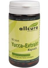 allcura Naturheilmittel Produkte Yucca Extrakt Kapseln Nahrungsergänzungsmittel 90.0 pieces