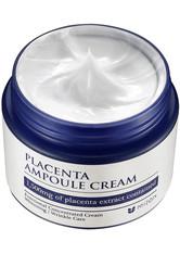 MIZON - Mizon Creme Mizon Creme Placenta Ampoule Cream Gesichtscreme 50.0 ml - Tagespflege