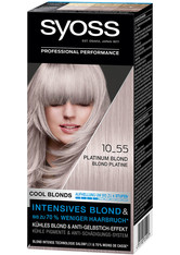 Syoss Permanentes Blond Kühles Blond Platinum Blond Haarfarbe 115 ml