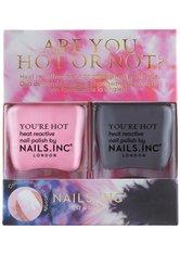 Nails inc Nagellack  Are You Hot or Not? Nail Polish Duo Nagellack 28.0 ml