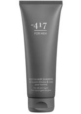 MINUS417 - -417 Herrenpflege Men's Body & Hair Shampoo 250 ml - SHAMPOO & CONDITIONER