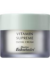 DOCTOR ECKSTEIN - Doctor Eckstein Cremes Doctor Eckstein Cremes Vitamin Supreme Gesichtscreme 50.0 ml - Tagespflege