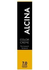 Alcina Haarpflege Coloration Color Creme Permanent Färbend 8.77 Hellblond Intensiv Braun 60 ml