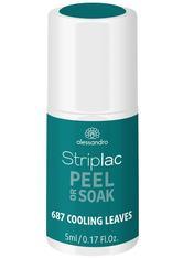 Alessandro Tropical Feeling Striplac Peel or Soak Nagellack 5 ml Cooling Leaves