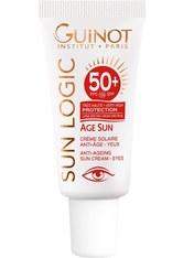 Guinot Sun Logic Age Sun Anti-Aging Sonnenpflege Augen LSF-50+ 15 ml Sonnencreme