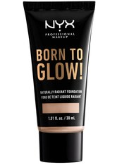 NYX PROFESSIONAL MAKEUP - NYX Professional Makeup Born to Glow Naturally Radiant Foundation 30ml (Various Shades) - Porcelain - FOUNDATION