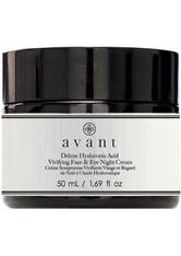 Avant Skincare Age Nutri-Revive Avant Age Nutri-Revive Deluxe Hyaluronic Acid Vivifying Face & Eye Night Cream Nachtcreme 50.0 ml
