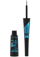 Catrice Eyeliner/Kajal 24h Brush Liner Waterproof Eyeliner 3.0 ml