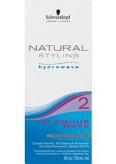 Schwarzkopf Natural Styling Hydrowave Glamour Wave Set 2 - für gefärbtes, gesträhntes oder poröses Haar, 1 Portions-Set