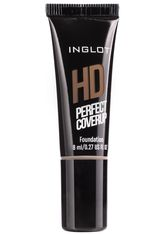 Inglot Foundation HD Perfect Coverup Foundation - Travel Size Foundation 8.0 ml
