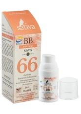 Sativa Produkte No. 66 - Getönte Sonnenschutzcreme - Rose Beige 30ml Sonnencreme 30.0 ml