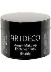 ARTDECO - Artdeco Pflege Reinigungsprodukte Augen Make-up Entferner Pads Oil 60 Stk. - MAKEUP ENTFERNER