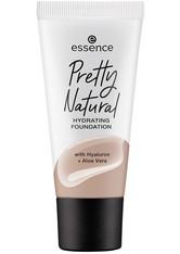 essence Pretty Natural Hydrating Flüssige Foundation  30 ml NR. 190 - NEUTRAL SANDSTONE