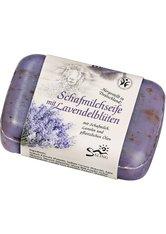 Saling Produkte Schafmilchseife - Lavendelblüten 100g  100.0 g
