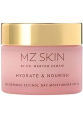 MZ SKIN - MZ SKIN Produkte Hydrate & Nourish Age Defence Retinol Day Moisturiser SPF 30 Gesichtspflege 50.0 ml - TAGESPFLEGE
