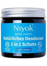 Niyok Produkte 2in1 Deodorant - Light Ocean 40ml Deodorant 40.0 ml