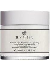 Avant Skincare Age Protect & UV  Avant Pflege Age Protect + UV Profusion Algae Regenerative & Tightening Anti-Pollution Night Treatment Nachtcreme 50.0 ml