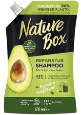 Nature Box Haarpflege Reparatur Shampoo mit Avocadoöl Nachfüllpack Haarshampoo 500.0 ml