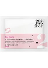 one.two.free! Augenpflege Hyaluronic Power Eye Patches Augenpatches 1.0 pieces