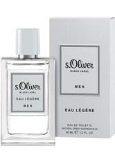s.Oliver Black Label Men Eau Légère Eau de Toilette (EdT) 30 ml Parfüm
