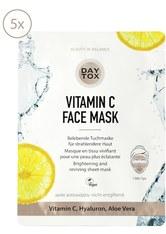 Daytox Produkte Vitamin C Face Mask 5er Set Maske 125.0 ml