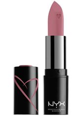 NYX Professional Makeup Shout Loud Hydrating Satin Lipstick (Various Shades) - Desert Rose