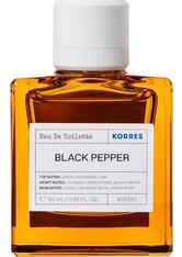 Korres Black Pepper Eau de Toilette (EdT) 50 ml Parfüm