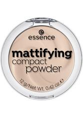 Essence Teint Puder & Rouge Mattifying Compact Powder Nr. 11 Pastel Beige 12 g