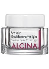 Alcina Produkte Sensitiv Gesichtscreme Light Getönte Tagespflege 50.0 ml