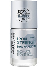 CATRICE - Catrice Iron Strength Nail Hardener Nagelhärter  Nr. 0 - Crystal Clear - BASE & TOP COAT