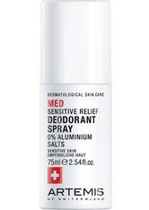 Artemis Produkte Sensitive Relief Deodorant Spray Deodorant 75.0 ml