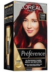 L'Oréal Paris Préférence 3.66 Intensives Dunkelrot (Budapest) Coloration 1 Stk. Haarfarbe