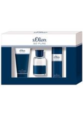 s.Oliver Herrendüfte So Pure Men Geschenkset Eau de Toilette Spray 30 ml + Shower Gel & Shampoo 75 ml + Deodorant Spray 50 ml 1 Stk.