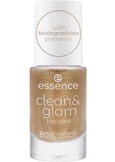 Essence Nagellack Clean & Glam Top Coat Nagellack 8.0 ml