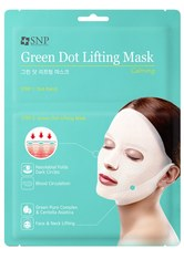 SNP - SNP Gesichtsmasken SNP Gesichtsmasken Lifting Mask GREEN DOT Tuchmaske 30.0 ml - Tuchmasken