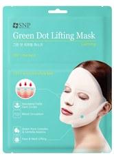 SNP Gesichtsmasken Lifting Mask GREEN DOT Tuchmaske 30.0 ml